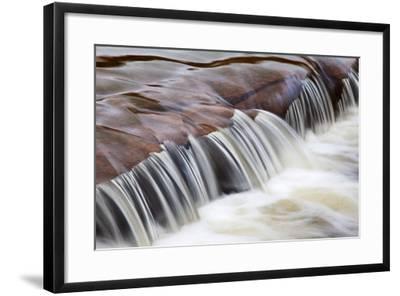 Flowing Water-Mark Sunderland-Framed Photographic Print