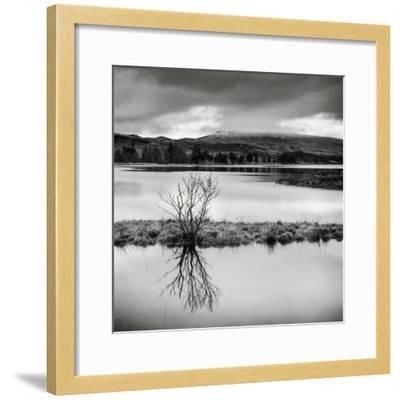 Rural Landscape with Lake-Craig Roberts-Framed Photographic Print