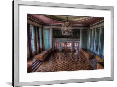 Abandoned Building Interior-Nathan Wright-Framed Photographic Print