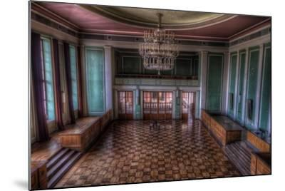 Abandoned Building Interior-Nathan Wright-Mounted Photographic Print