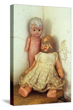Female Dolls-Den Reader-Stretched Canvas Print