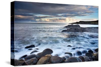 Northumberland Coastal Waters-Mark Sunderland-Stretched Canvas Print