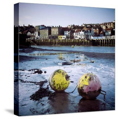 Whitby Harbour-Craig Roberts-Stretched Canvas Print