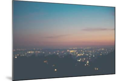 Sunset on Mulholland Drive-Laura Evans-Mounted Photographic Print