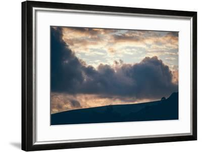 Stormy Sunset-Clive Nolan-Framed Photographic Print