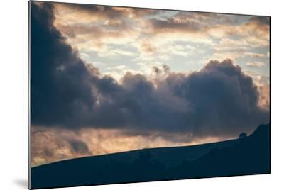 Stormy Sunset-Clive Nolan-Mounted Photographic Print