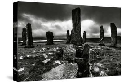Historic Standing Stones in Scotland-Elizabeth May-Stretched Canvas Print