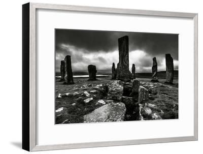 Historic Standing Stones in Scotland-Elizabeth May-Framed Photographic Print