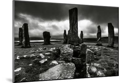 Historic Standing Stones in Scotland-Elizabeth May-Mounted Photographic Print