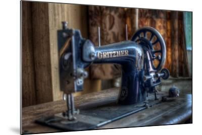 Old Sowing Machine-Nathan Wright-Mounted Photographic Print