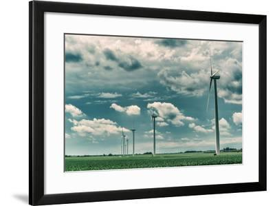 Wind Turbines-Stephen Arens-Framed Photographic Print