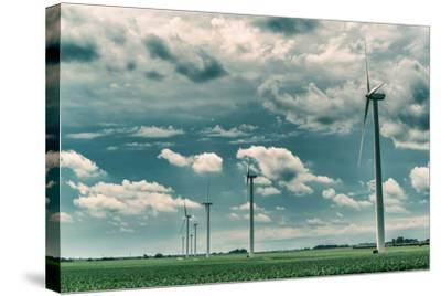 Wind Turbines-Stephen Arens-Stretched Canvas Print