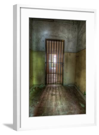 Cell with Metal Door-Nathan Wright-Framed Photographic Print