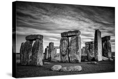 Stonehenge-Rory Garforth-Stretched Canvas Print