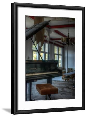 Old Piano-Nathan Wright-Framed Photographic Print
