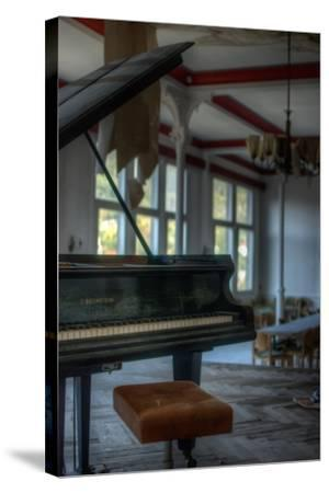 Old Piano-Nathan Wright-Stretched Canvas Print