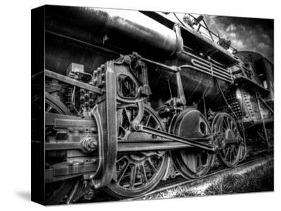 Train Strain-Stephen Arens-Stretched Canvas Print