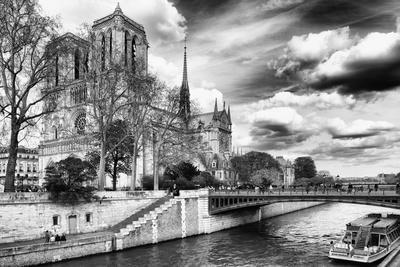 Notre Dame Cathedral - Paris - France-Philippe Hugonnard-Premium Photographic Print