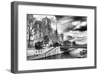 Notre Dame Cathedral - Paris - France-Philippe Hugonnard-Framed Premium Photographic Print