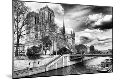 Notre Dame Cathedral - Paris - France-Philippe Hugonnard-Mounted Premium Photographic Print