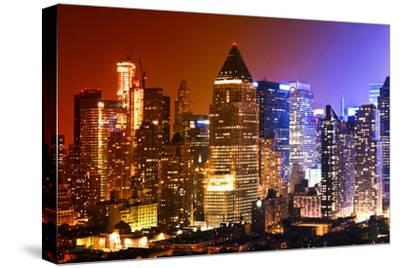 Buildings and Structures - Landscapes - Times Square - Manhattan - New York City - United States-Philippe Hugonnard-Stretched Canvas Print