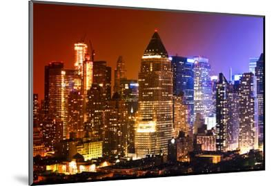 Buildings and Structures - Landscapes - Times Square - Manhattan - New York City - United States-Philippe Hugonnard-Mounted Photographic Print