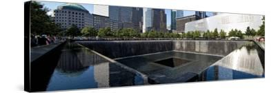 Panoramic Landscapes - Memorial - World Trade Center - New York - United States-Philippe Hugonnard-Stretched Canvas Print