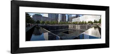 Panoramic Landscapes - Memorial - World Trade Center - New York - United States-Philippe Hugonnard-Framed Photographic Print