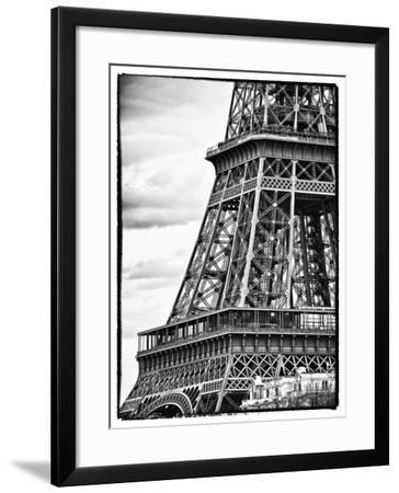 Detail of Eiffel Tower - Paris - France-Philippe Hugonnard-Framed Photographic Print