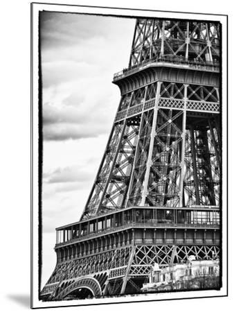 Detail of Eiffel Tower - Paris - France-Philippe Hugonnard-Mounted Photographic Print