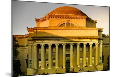 Columbia University - College - Campus - Buildings and Structures - Manhattan - New York - United S-Philippe Hugonnard-Mounted Photographic Print