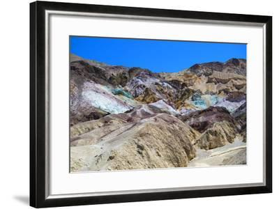 Artist's Palette - Death Valley National Park - California - USA - North America-Philippe Hugonnard-Framed Photographic Print