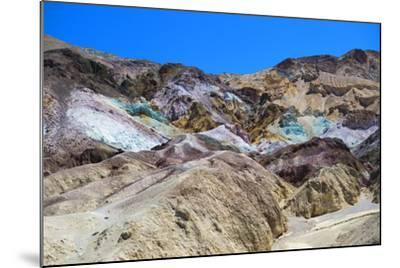 Artist's Palette - Death Valley National Park - California - USA - North America-Philippe Hugonnard-Mounted Photographic Print