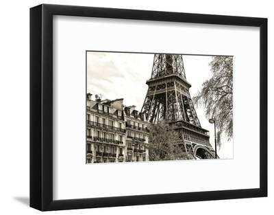 Paris - Eiffel Tower-Philippe Hugonnard-Framed Photographic Print