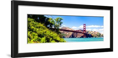 Landscape - Golden Gate Bridge - San Francisco - California - United States-Philippe Hugonnard-Framed Photographic Print