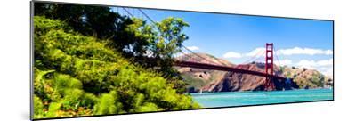 Landscape - Golden Gate Bridge - San Francisco - California - United States-Philippe Hugonnard-Mounted Photographic Print