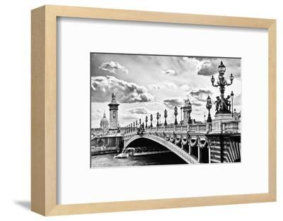 Alexander III Bridge view - Paris - France-Philippe Hugonnard-Framed Photographic Print