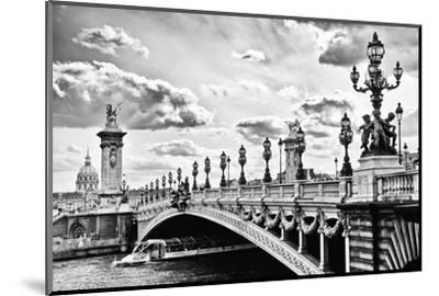 Alexander III Bridge view - Paris - France-Philippe Hugonnard-Mounted Photographic Print