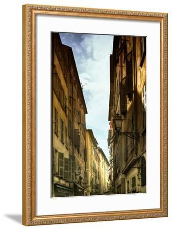 Provencal Street - French Streets - Nice - France-Philippe Hugonnard-Framed Photographic Print