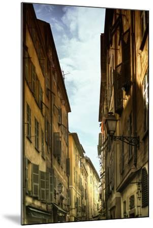 Provencal Street - French Streets - Nice - France-Philippe Hugonnard-Mounted Photographic Print
