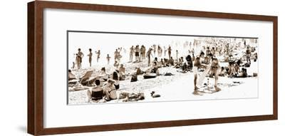 Panoramic Landscape - French beach - France-Philippe Hugonnard-Framed Photographic Print