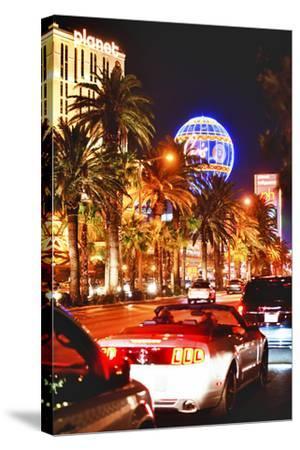 The Strip - Las Vegas - Nevada - United States-Philippe Hugonnard-Stretched Canvas Print