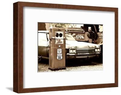 Route 66 - Gas Station - Arizona - United States-Philippe Hugonnard-Framed Photographic Print