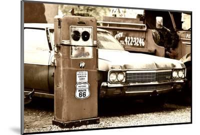 Route 66 - Gas Station - Arizona - United States-Philippe Hugonnard-Mounted Photographic Print