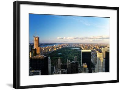 Central Park - Sunset - Manhattan - New York City - United States-Philippe Hugonnard-Framed Photographic Print