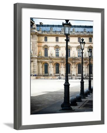 Lamps, the Louvre Museum, Paris, France-Philippe Hugonnard-Framed Photographic Print