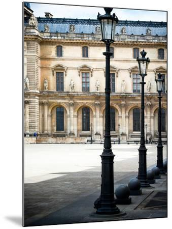 Lamps, the Louvre Museum, Paris, France-Philippe Hugonnard-Mounted Photographic Print
