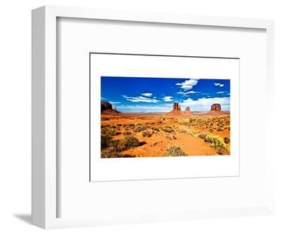 Landscape - Monument Valley - Utah - United States-Philippe Hugonnard-Framed Photographic Print