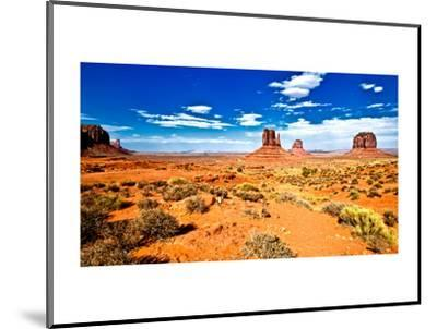 Landscape - Monument Valley - Utah - United States-Philippe Hugonnard-Mounted Photographic Print