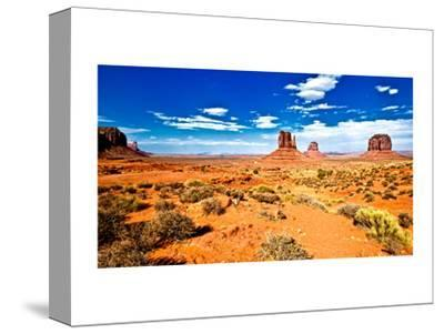 Landscape - Monument Valley - Utah - United States-Philippe Hugonnard-Stretched Canvas Print